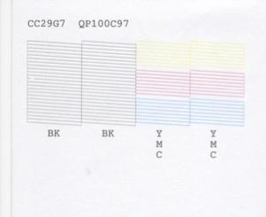 Missing segments in nozzle check | PrinterKnowledge