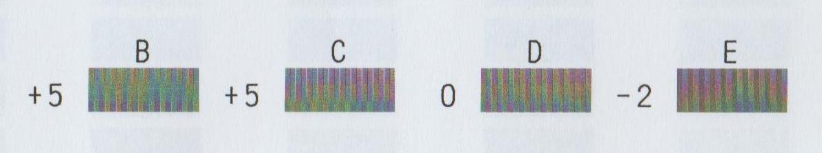 Canon Ip4300 Manual Print head Alignment