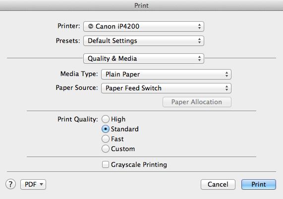 ip4200 no longer printing in colour | PrinterKnowledge