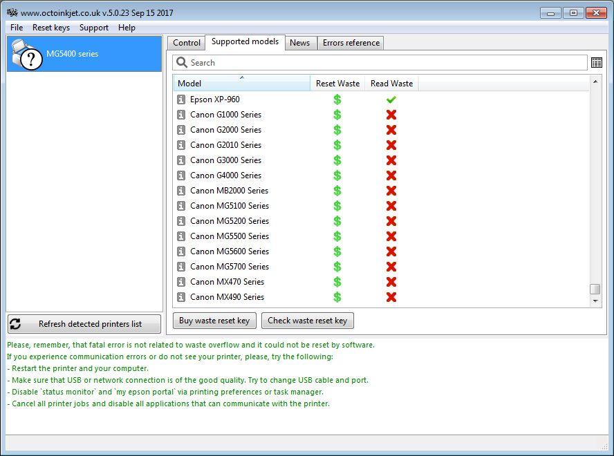 Wic reset key crack for canon g2000 | Canon G1000, G2000, G3000